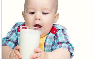 Аллергия на коровье молоко у ребенка