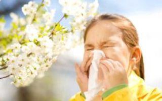 Сезонный аллергический ринит.