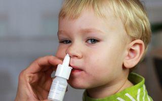 Капли от аллергии для детей.