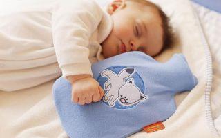 Грелка для новорожденного от коликов