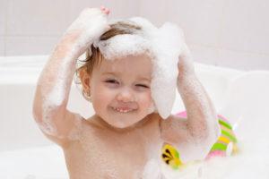 cредства для купания новорожденных