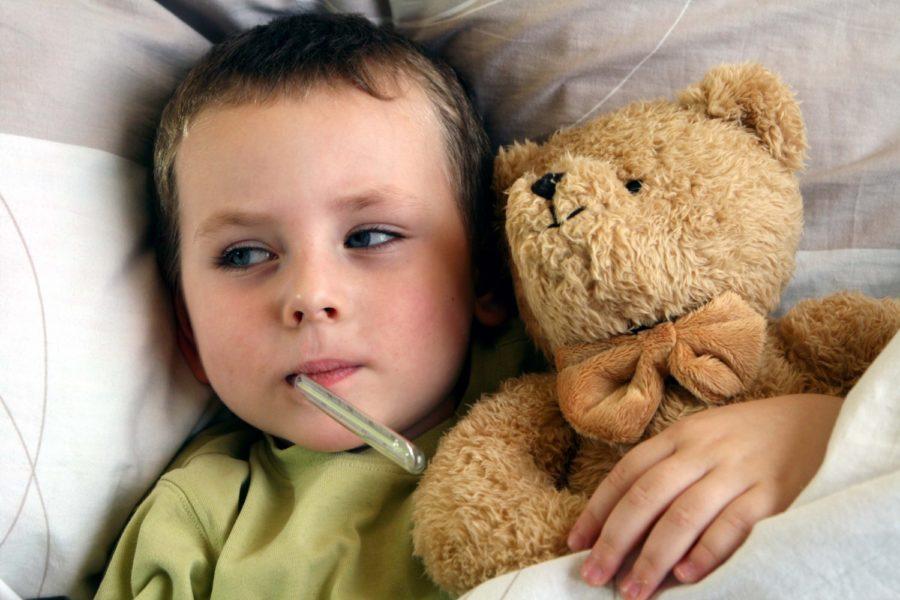 температура при орз у ребенка