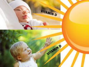профилактика рахита на солнце