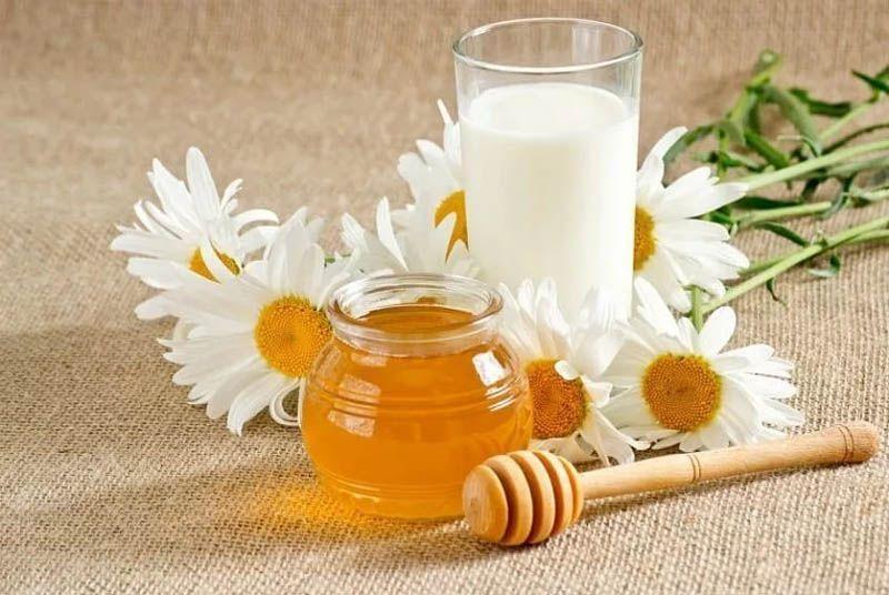 молоко с медом при орви