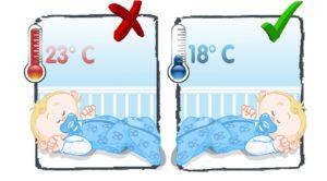 температурный режим для ребенка