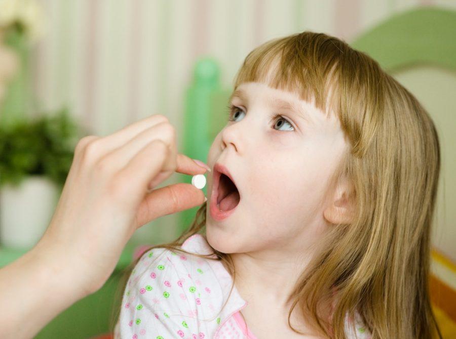 таблетки ребенку от ангины