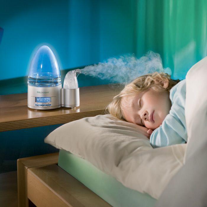 увлажнитель воздуха при ангине у ребенка