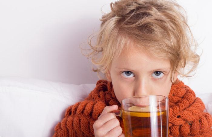 обильное питье при ангине у ребенка
