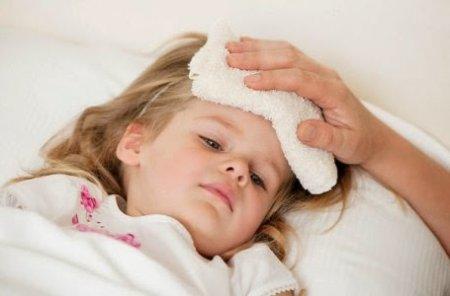 температура у ребенка при вирусной ангине