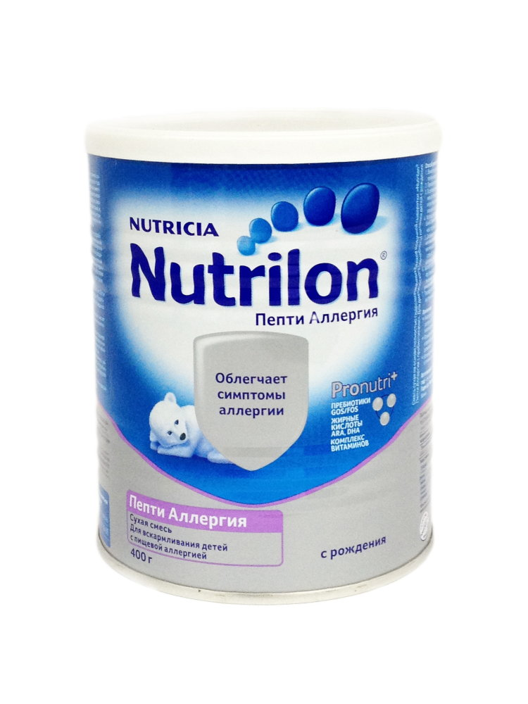 гипоаллергенная Nutrilon Пепти Аллергия