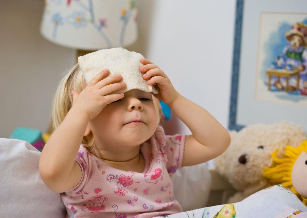 лихорадка у ребенка при орви