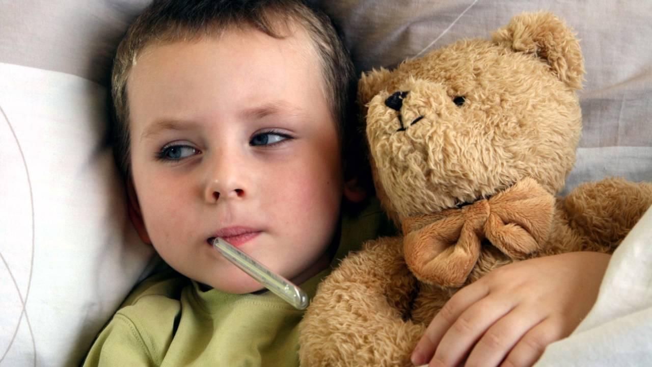 почему не спадает температура у ребенка при орви