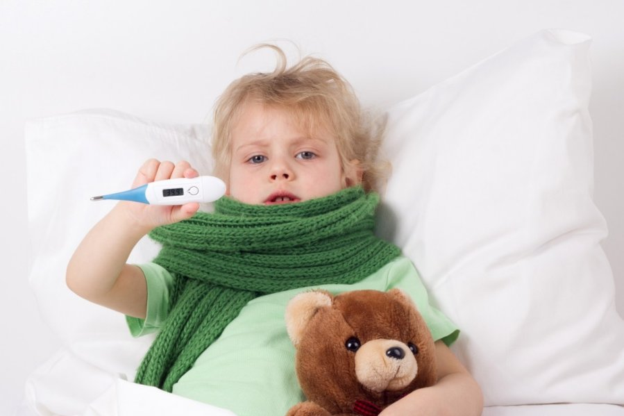 температура выше 38 у ребенка при орви