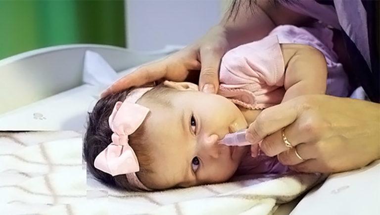 сопли у ребенка