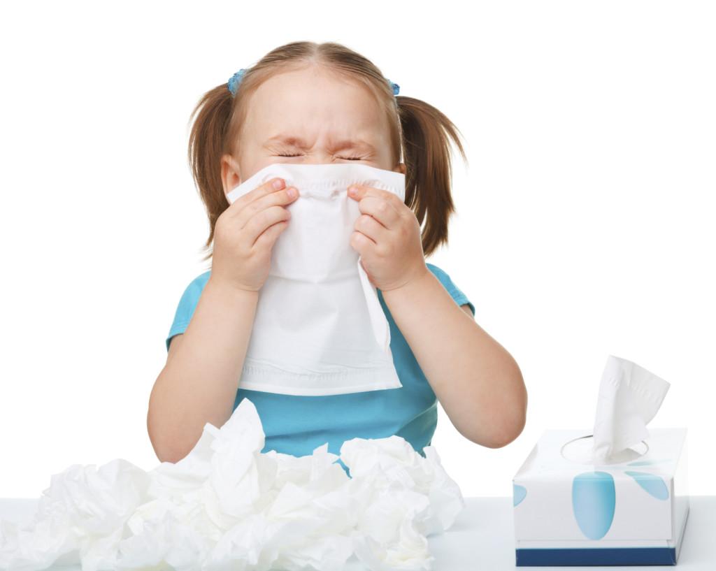 лечение зеленых соплей у ребенка