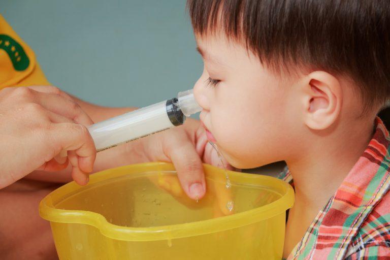 раствор для промывания носа
