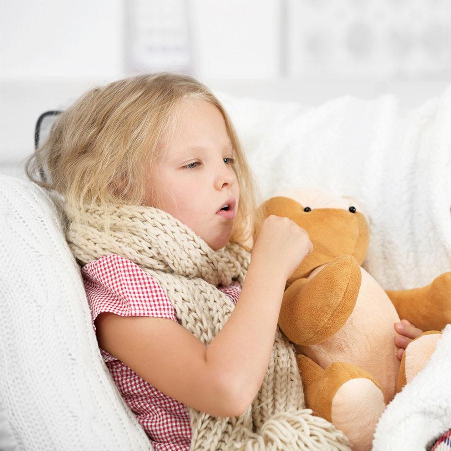 кашель у ребенка без