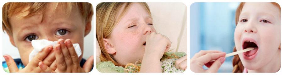 кашель при орви у детей