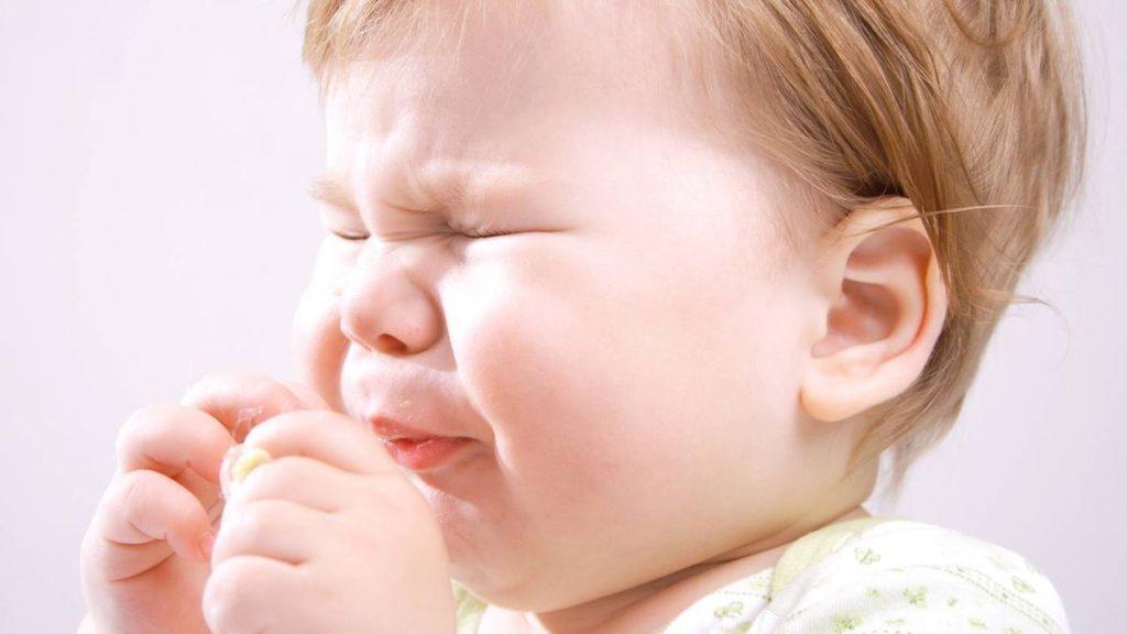кашель во время прорезывания зубов