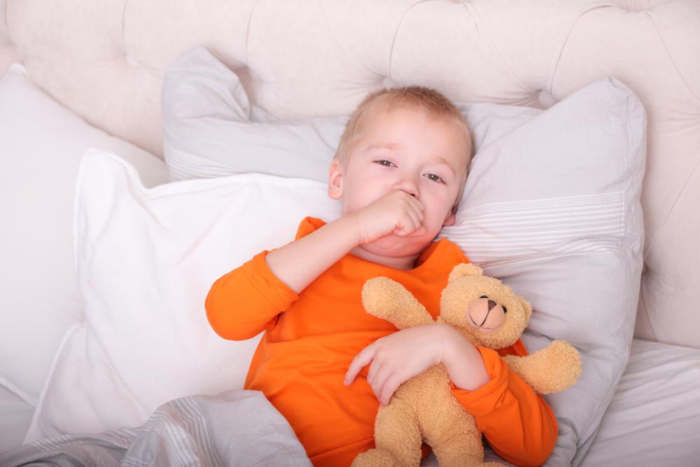 кашель во время зубов