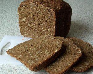Чёрный хлеб с отрубями